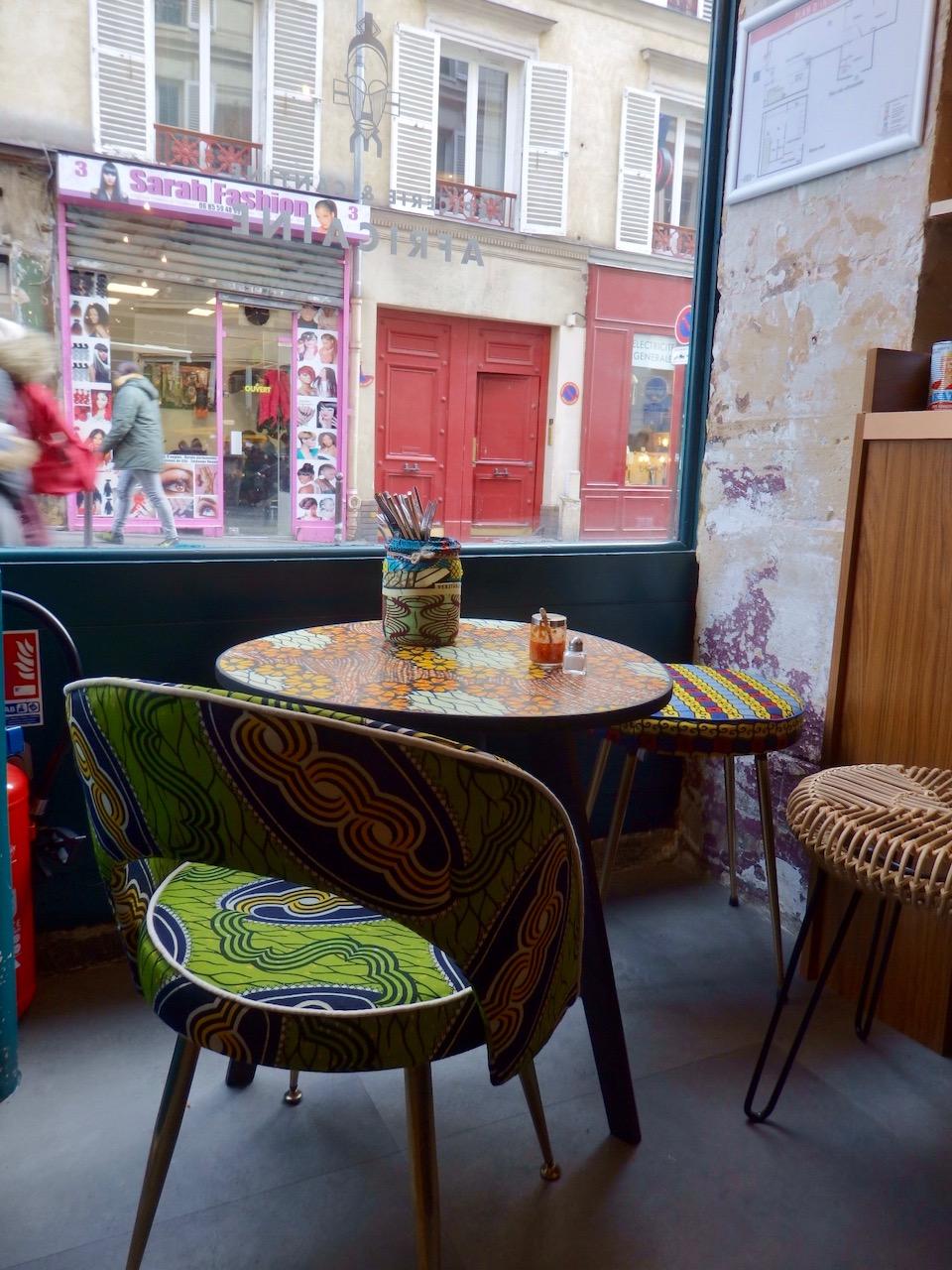 Bmk la cantine et picerie fine africaine entre paris et for Salon de coiffure afro chateau d eau